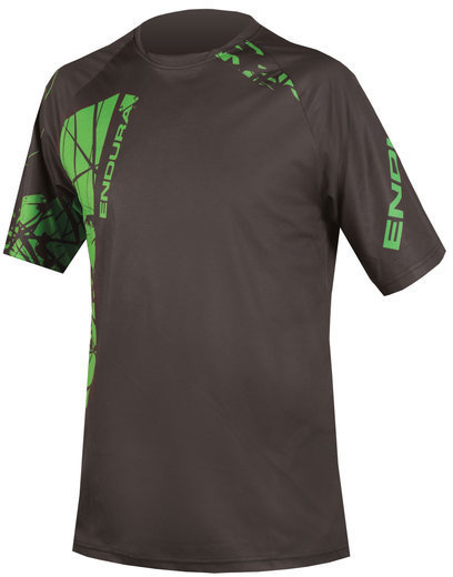 Endura Singletrack Print Tee Color: Black