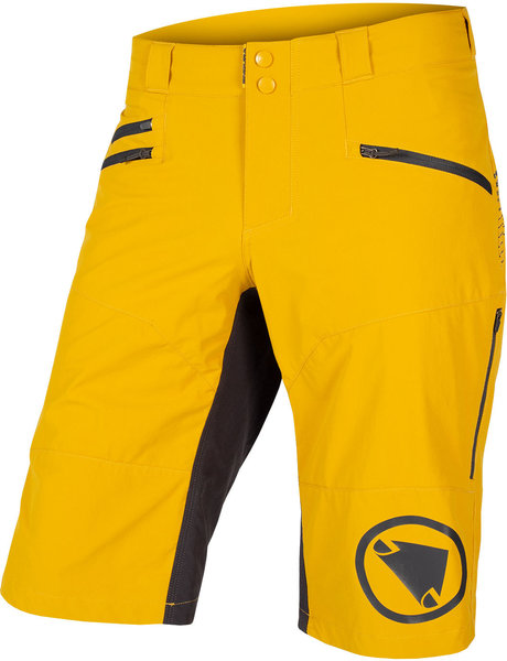 Endura SingleTrack Short II Color: Mustard
