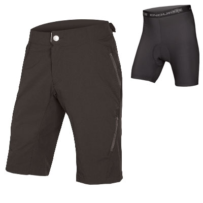 Endura STrack Lite Short II with Liner