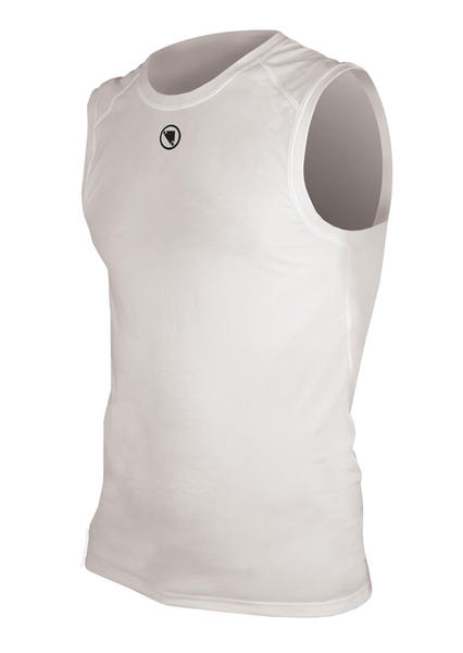 Endura Translite Sleeveless Baselayer Color: White