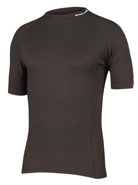 Endura Transrib Shortsleeve Baselayer Color: Black