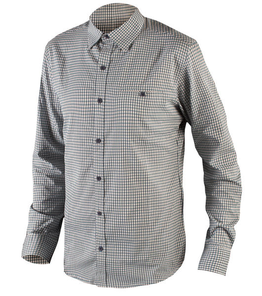 Endura Urban Shirt Color: Blue Gingham