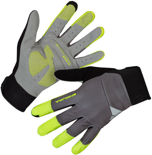 Endura Windchill Glove Color: Hi-Viz Yellow