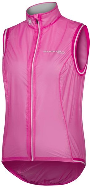 Endura Women's FS260-Pro Adrenaline Race Gilet II Color: Cerise