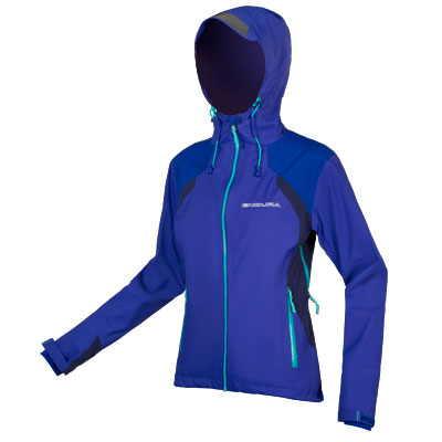 Endura Wms MT500 Waterproof Jacket II Color: Cobalt Blue
