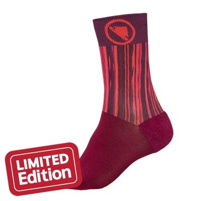 Endura Wms Pinstripe Sock LTD