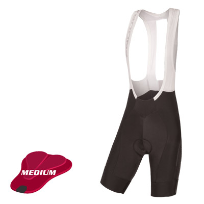 Endura Wms ProSL Bibshort Drop Seat II (Medium Pad) Color: Black