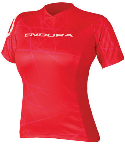 Endura Wms Singletrack T Color: Red