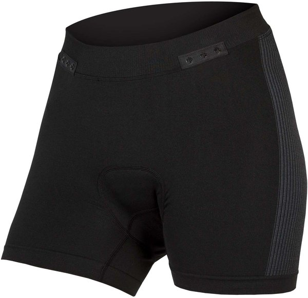 Endura Women's Engineered Padded Boxer w/Clickfast Color: Black