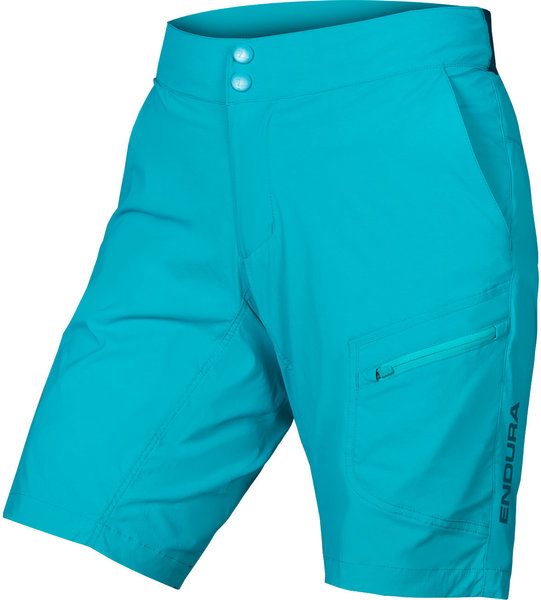 Endura Women's Hummvee Lite Short w/Liner Color: Pacific Blue