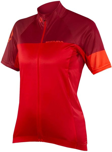 Endura Women's Hyperon S/S Jersey II Color: Red