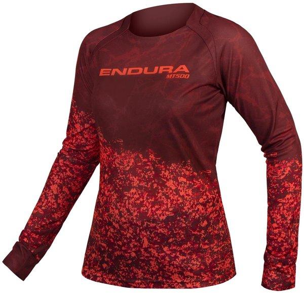 Endura Women's MT500 Marble L/S Jersey LTD