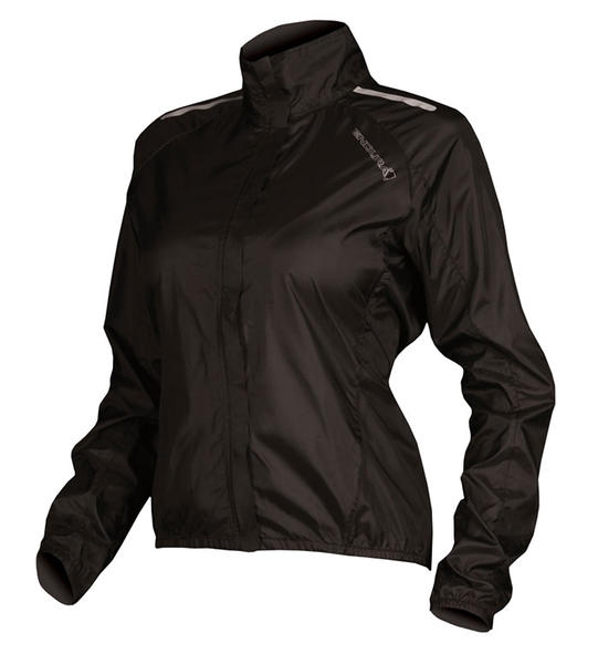Endura Pakajak Jacket (Flat-Packed) - Women's Color: Black