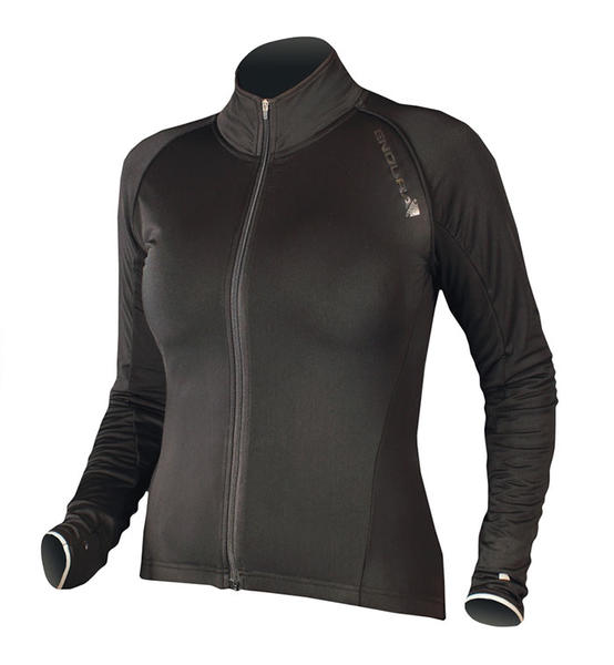Endura Wms Roubaix Jacket Color: Black