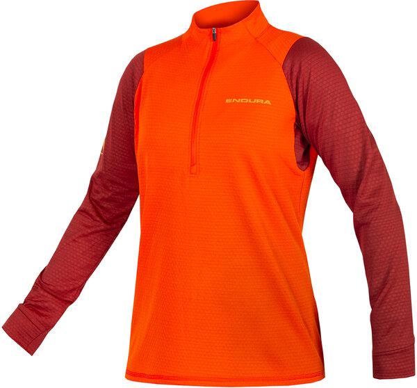 Endura Women's Singletrack Fleece Color: Paprika