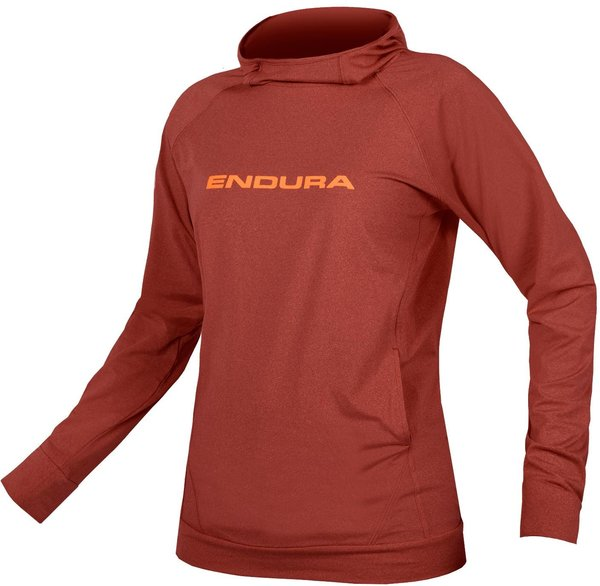 Endura Women's Singletrack Hoodie Color: Cocoa
