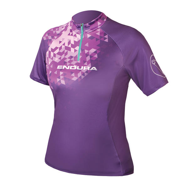 Endura Singletrack II Short Sleeve Jersey - Women's Color: Purple