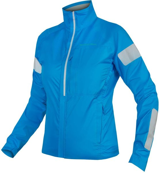 Endura Women's Urban Luminite Jacket Color: Hi-Viz Blue