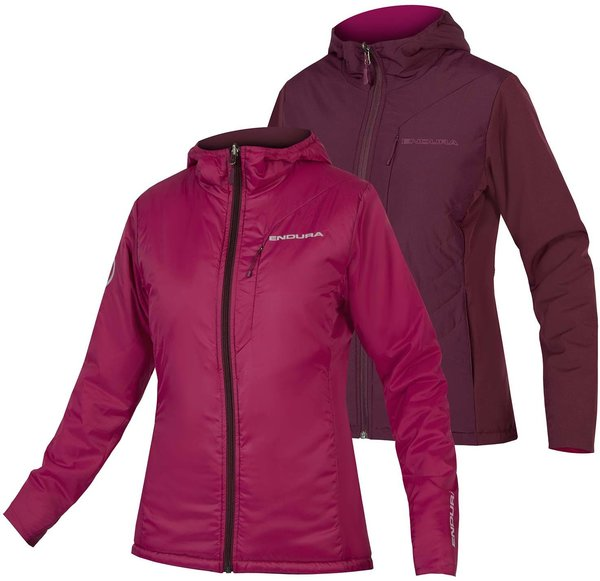 Endura Women's Urban PrimaLoft FlipJak II Color: Mulberry