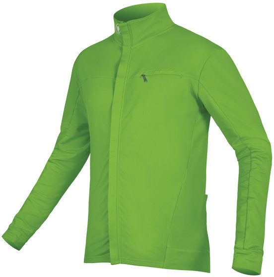 Endura Xtract Roubaix L/S Jersey Color: Hi-Viz Green
