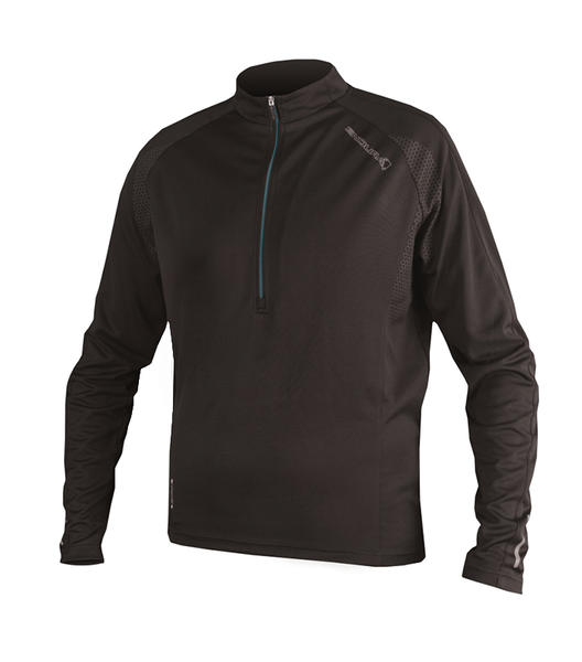 Endura Xtract Long Sleeve Jersey Color: Black