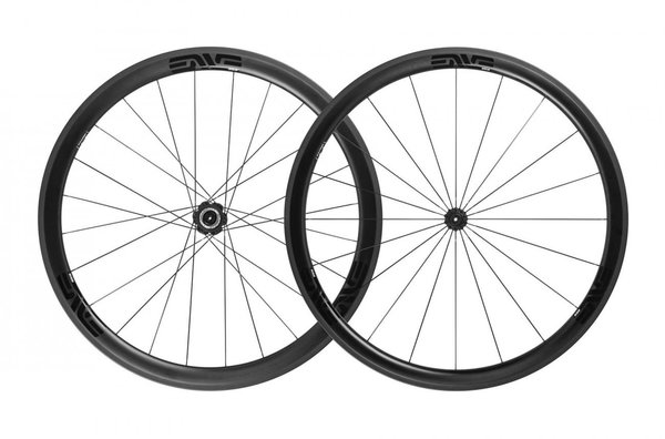 ENVE SES 3.4 Clincher ENVE Alloy Hub Wheelset Color: Black Decal