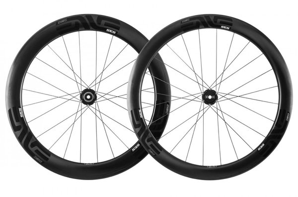 ENVE SES 5.6 Disc Tubular Chris King Ceramic Wheelset Color: Black Decal