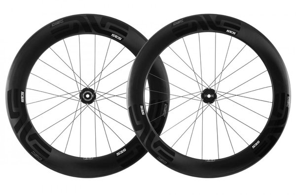 ENVE SES 7.8 Disc I9 Wheelset Color: Black Decal