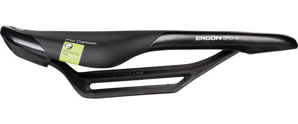 Ergon SR3 Pro Carbon Monolink Rail Saddle Color: Black