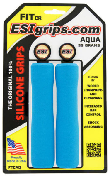 ESI Fit CR Grips Color: Aqua