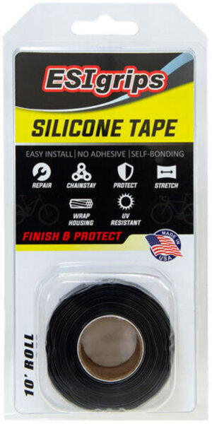 ESI Silicone Tape 10' Color: Black