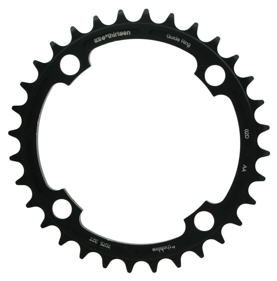 e*thirteen by The Hive Guidering DH Chainring Color: Black