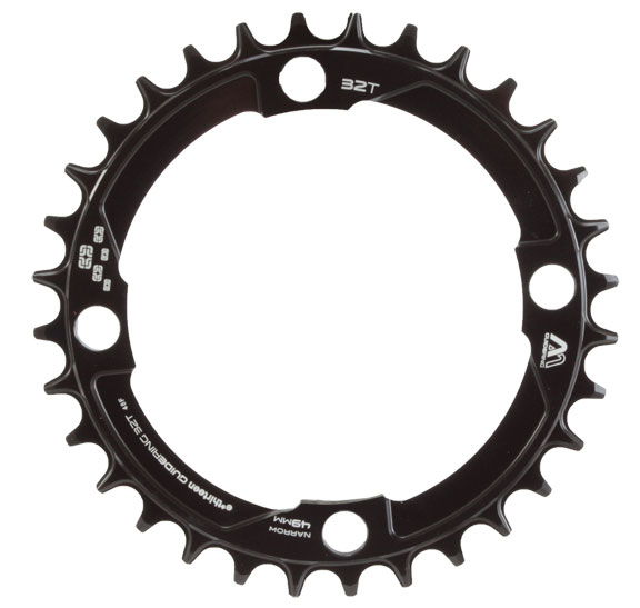 e*thirteen by The Hive Guidering M (Narrow/Wide) Chainring Color: Black