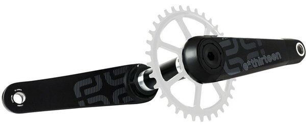 e*thirteen by The Hive TRS Race Crankset Color: Black