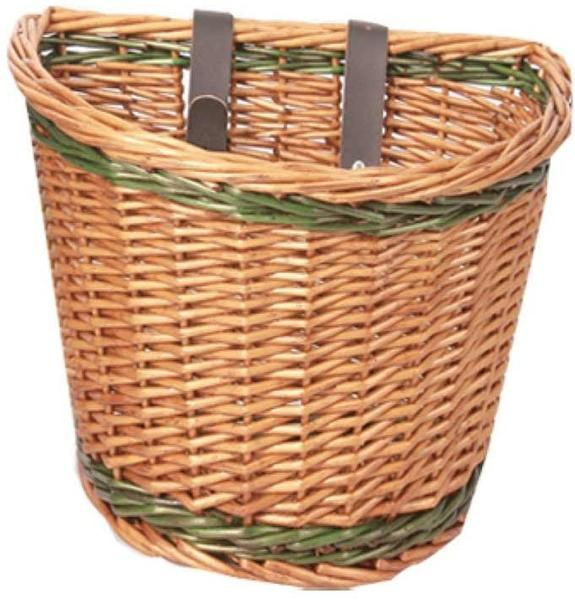Evo E-Cargo Classic Wicker Basket Color: Beige