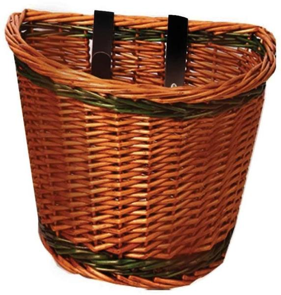 Evo E-Cargo Classic Wicker Basket
