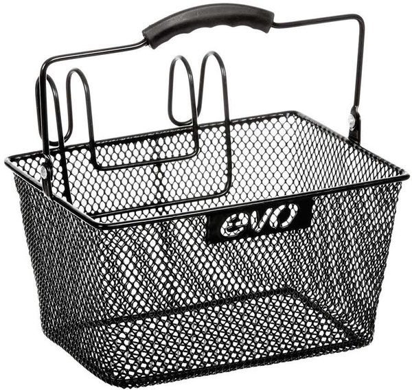 Evo E-Cargo Lift-Off Mesh Basket Color: Black