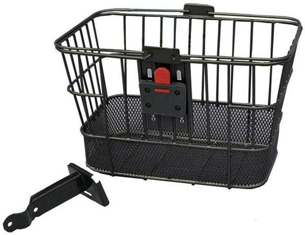 Evo E-Cargo QR Dual Mesh Basket Color: Black