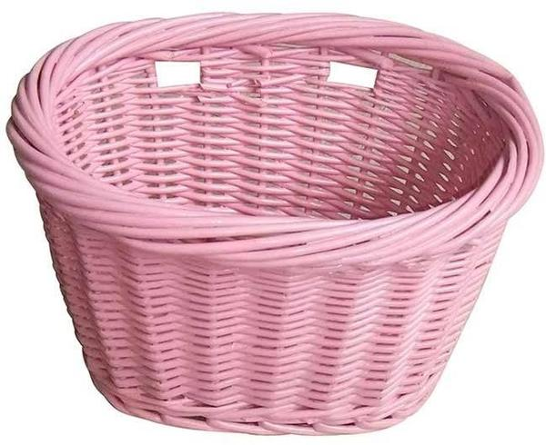 Evo E-Cargo Wicker JR Basket Color: Pink