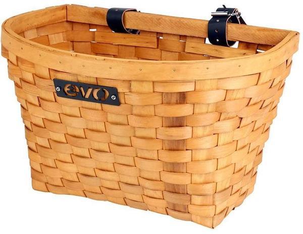 Evo E-Cargo Wood Classic Basket
