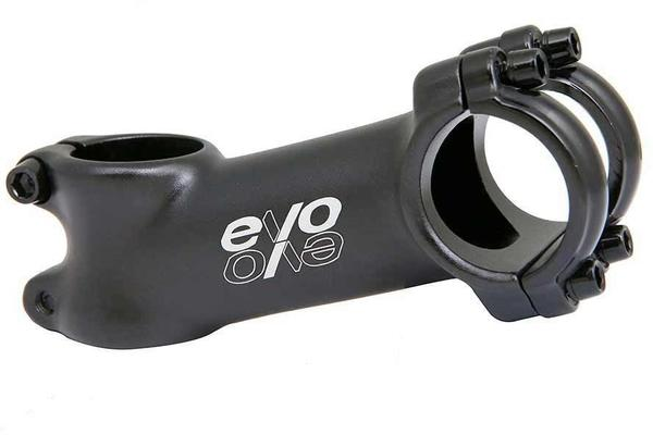 Evo E-Tec OS Clamp Diameter | Color | Rise | Size | Steerer Diameter: 31.8mm | Black | 17° | 70mm | 1-1/8-inch