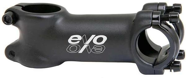 Evo E-Tec Stem Clamp Diameter | Color | Length | Rise | Steerer Diameter: 25.4mm | Black | 70mm | 7° | 1-1/8-inch