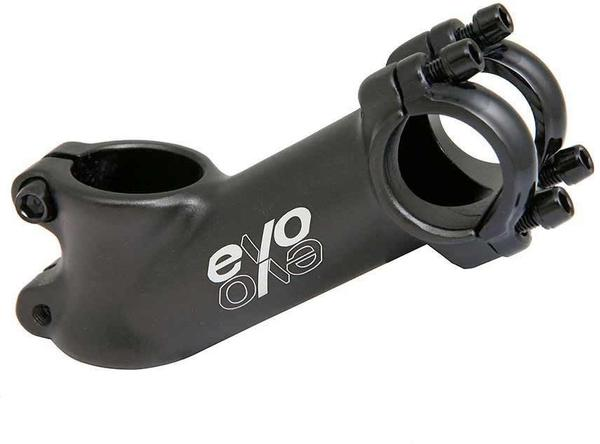 Evo E-Tec Stem Clamp Diameter | Color | Length | Rise | Steerer Diameter: 25.4mm | Black | 60mm | 35° | 1-1/8-inch