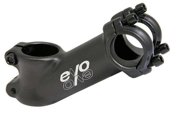 Evo E-Tec Stem Clamp Diameter | Color | Length | Rise | Steerer Diameter: 25.4mm | Black | 75mm | 35° | 1-1/8-inch
