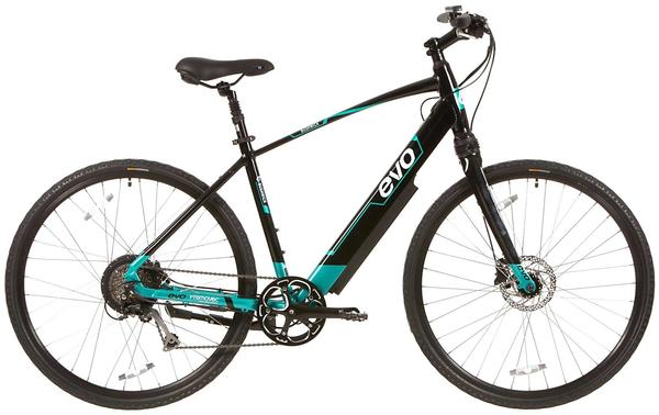 Evo Bushwick Color: Black/Touring Teal