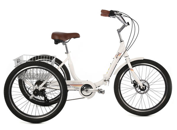 Evo Latitude Trike Color: Alpine White