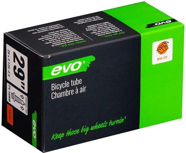 Evo Presta Tube Color | Size | Valve Length: Black | 29 x 2.125 – 2.40 | 48mm