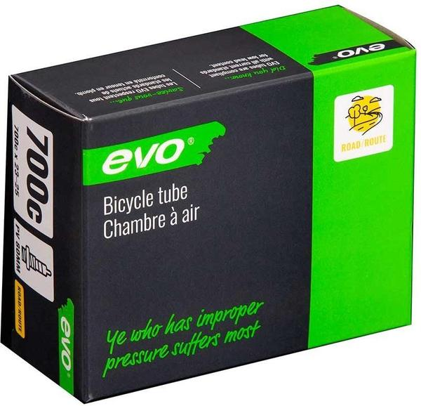 Evo Presta Tube Color | Size | Valve Length: Black | 700c x 23 – 25 | 80mm