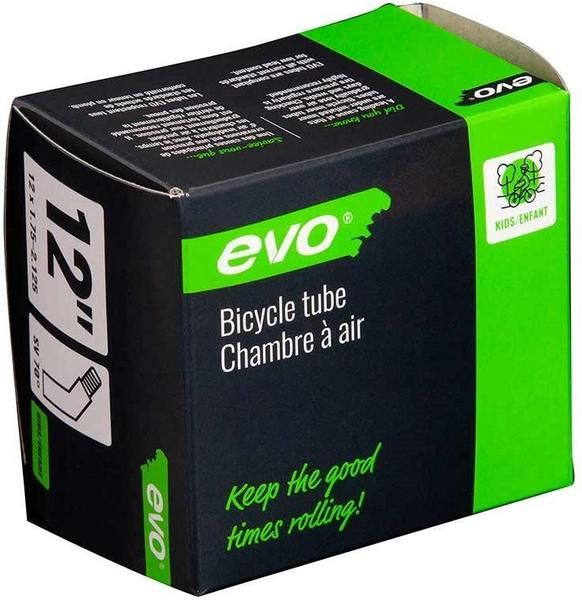 Evo Schrader Tube Color | Size: Black | 12 x 1.75–2.125 (70-deg)