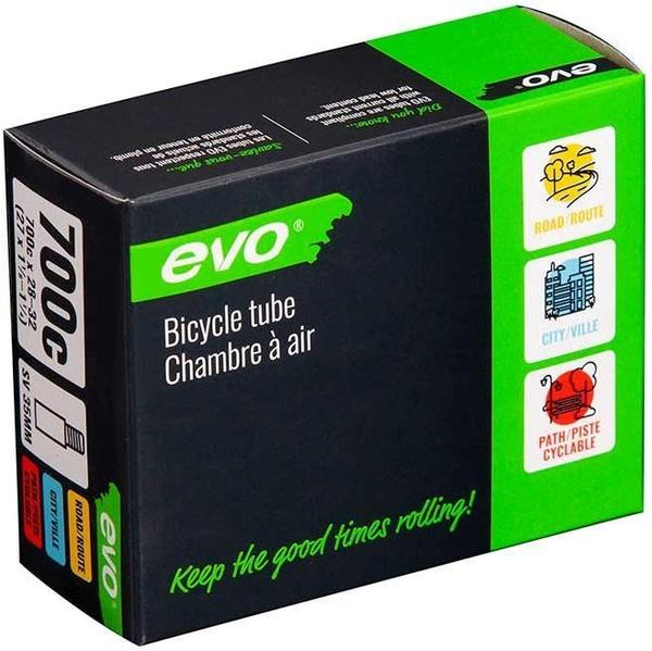 Evo Schrader Tube Color | Size: Black | 700c x 28 – 32
